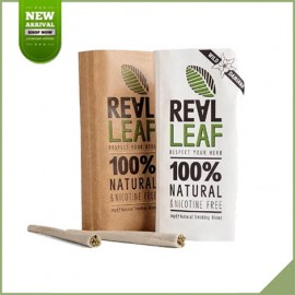 Duo pack Real Leaf sostituto del tabacco naturale