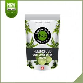 Fleurs de cannabis CBD SFTB Green Lemon Skunk