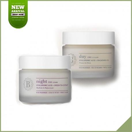Pack Blossom Skincare cbd crème de jour et nuit