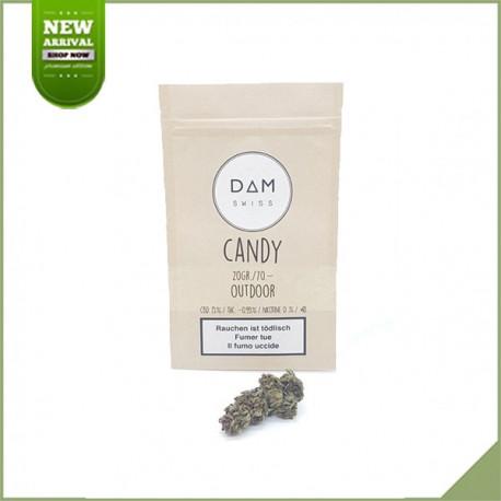 Fleurs de cannabis CBD Dam Swiss Candy