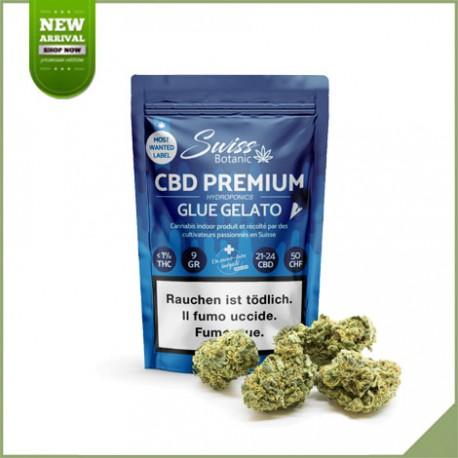 Fleurs de cannabis CBD Swiss Botanic Glue Gelato