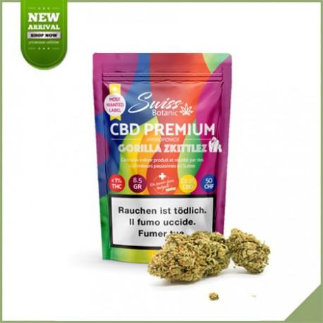 Fleurs de cannabis CBD Swiss Botanic Gorilla Skittlez