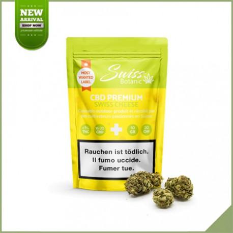 Fleurs de cannabis CBD Swiss Botanic Swiss Cheese