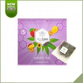 Tisane cbd en sachet - Alpsbee Green Tea