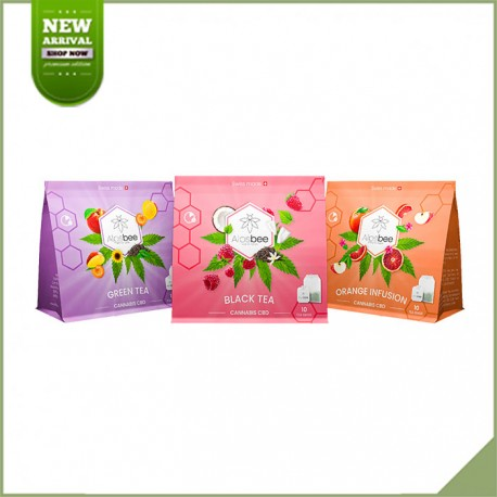 Infusion cbd Mango Erdbeere rooibos - My Growing Company