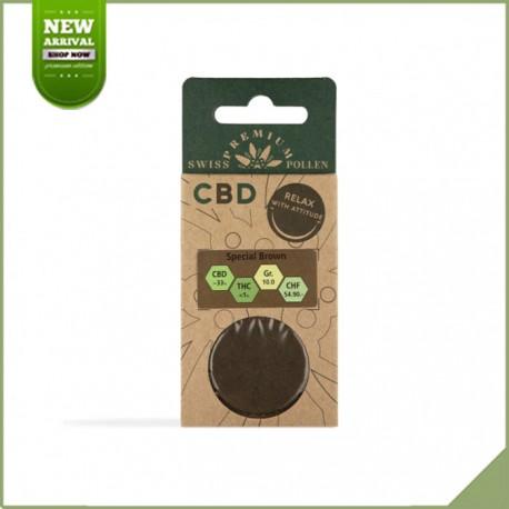 Swiss Premium Pollen CBD Special Brown