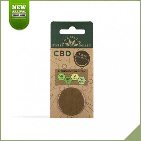 Schweizer Premium Pollen CBD Special Brown