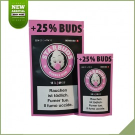 Fleurs de cannabis CBD Starbuds Bubble Gum 9g 22%