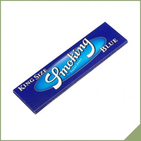 Smoking Bleu king-size papier à rouler