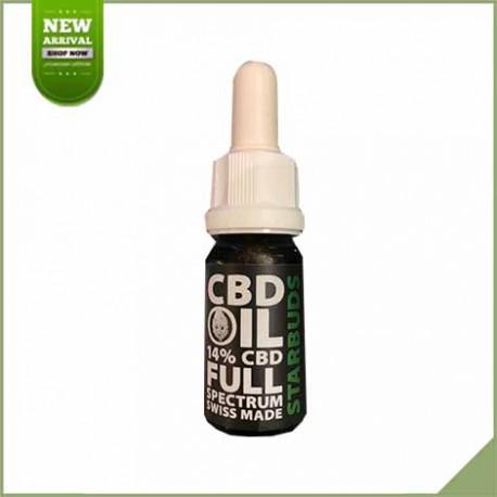 Huile de cannabis CBD Starbuds 14% 10 ml