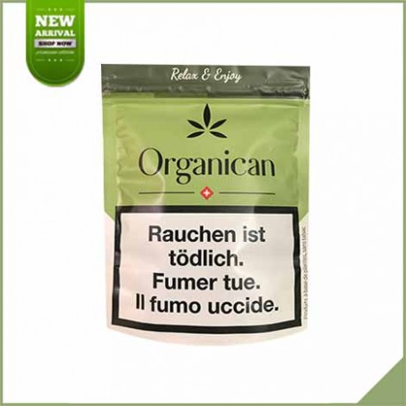 Fleurs de cannabis CBD Organican Purpla Haze 4,1g 24%