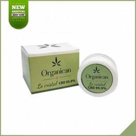 Cristal de CBD Organican 99.9%