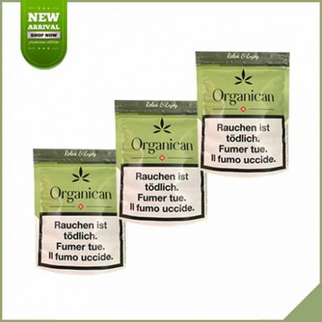 Trio pack fleurs de cannabis CBD Organican