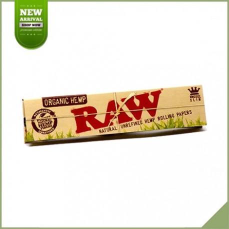 Feuilles longues à rouler Raw Organic Hemp