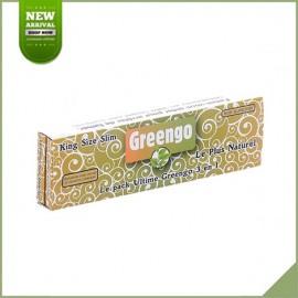 Lange Blätter zu rollen Greengo King Size Slim + Tips