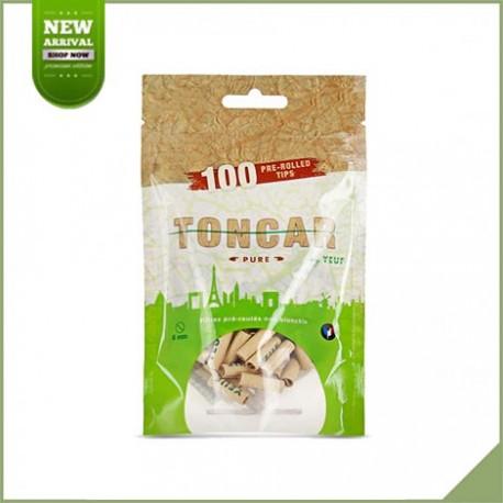 Filtres en carton pré-roulés YEUF Toncar pure 100 pièces