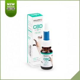 Huile de cbd pour chat Dolocan Dolopet 400 mg