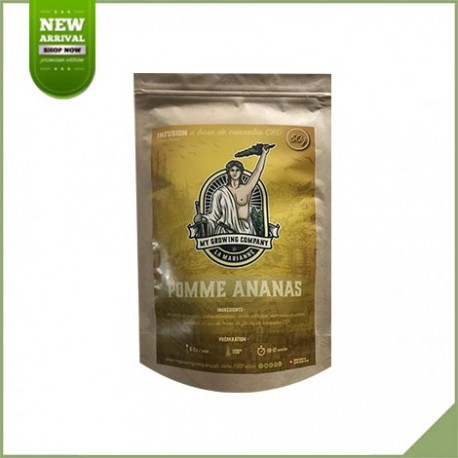 Infusion cbd pomme ananas - My Growing Company