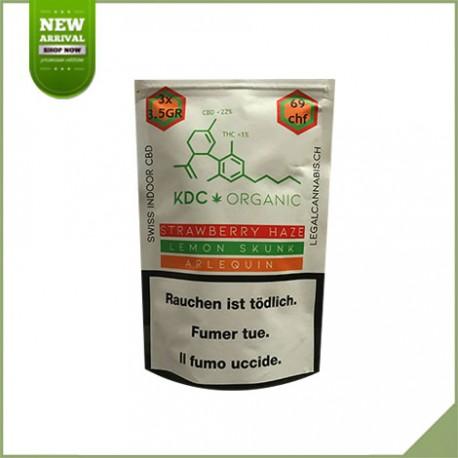 Cannabis Blumen CBD Schweizer Ernte Easy Weed 23%