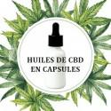 Huiles de CBD capsules