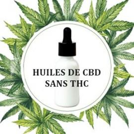 Huiles de CBD sans THC