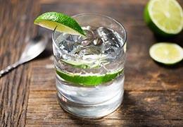 Cocktail CBD Gin Tonic